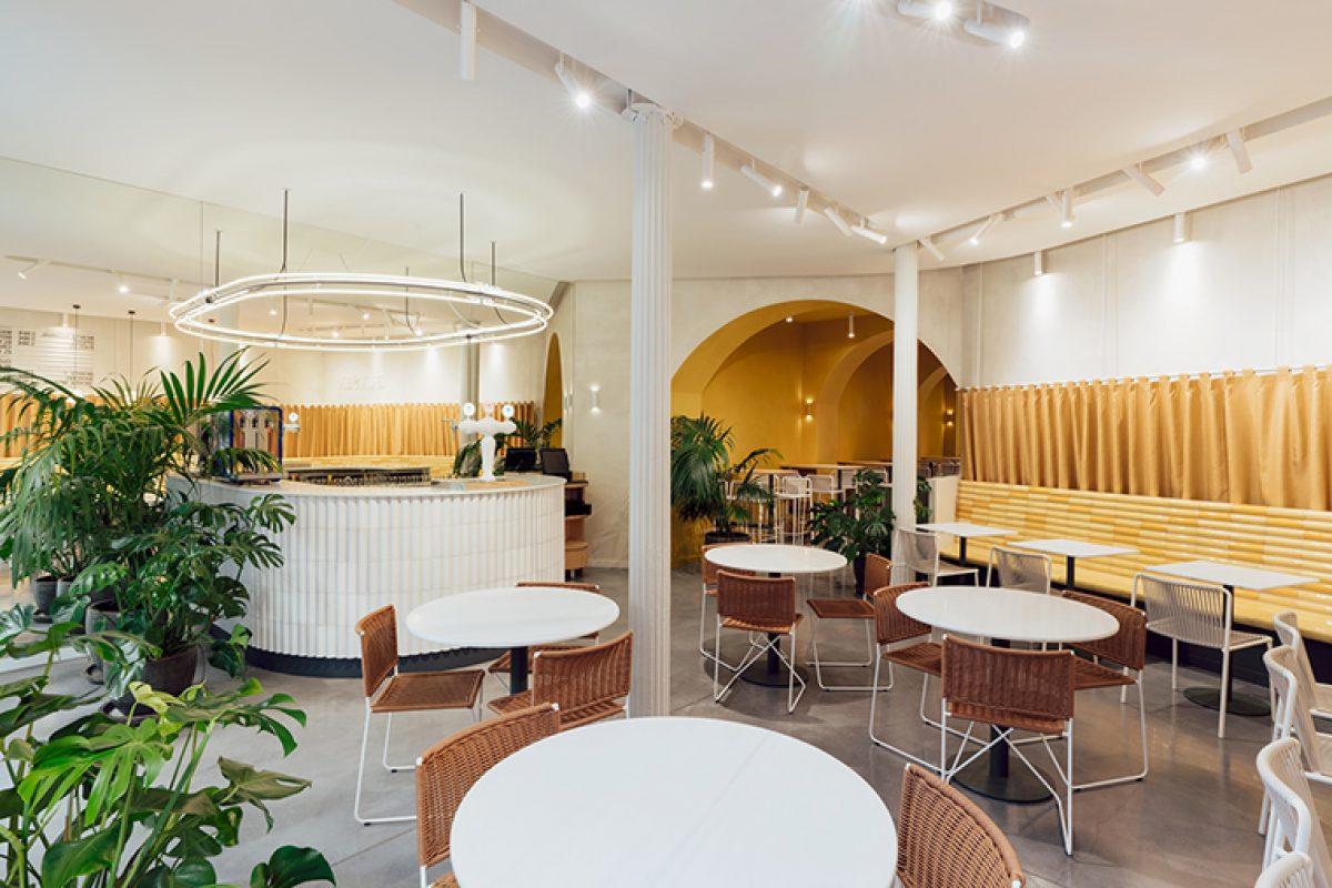 Mesura diseña Bunsen en Barcelona, el restaurante irlandés con guiños del barrio gótico