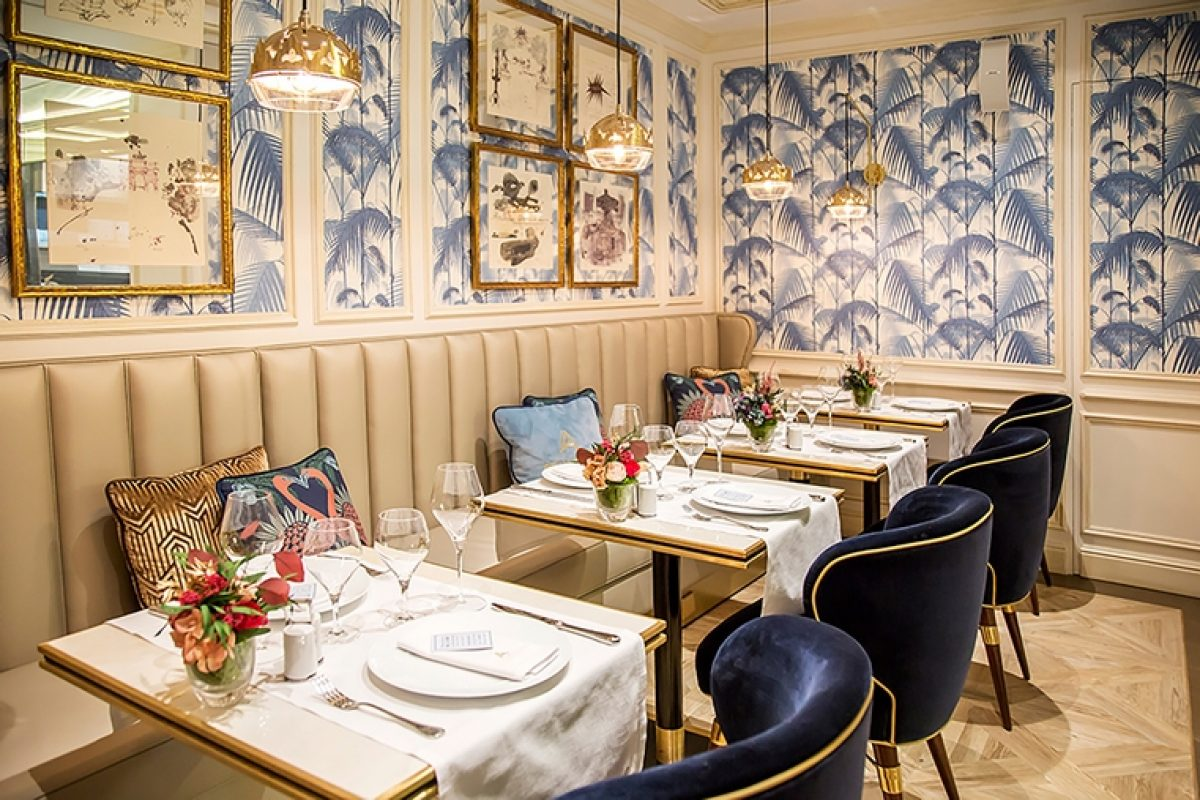 Casos Prácticos: Orac Decor® re-transcribe el chic francés en la Brasserie Antoinette de Madrid con sus elegantes molduras