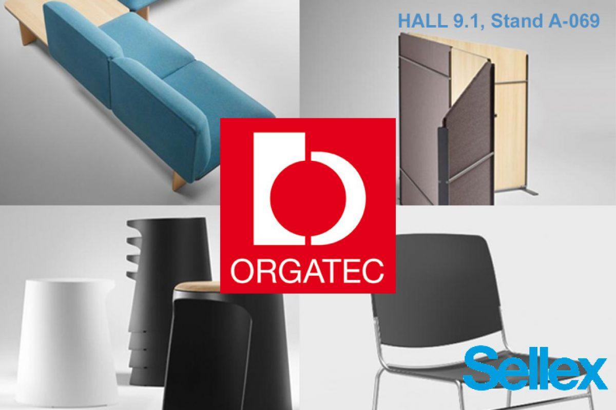 Lo último de Sellex se verá en Orgatec 2018. Diseños de Mario Ruiz, ITEMdesignworks y Stephen Philips (ARUP)