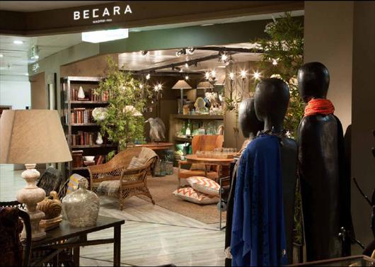 Becara abre su nueva tienda en el corte ingl s de for Almacenes decoracion bogota