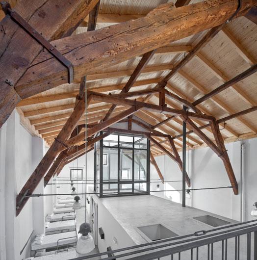 El arquitecto sergio rojo rehabilita el albergue santiago - Arquitectos logrono ...