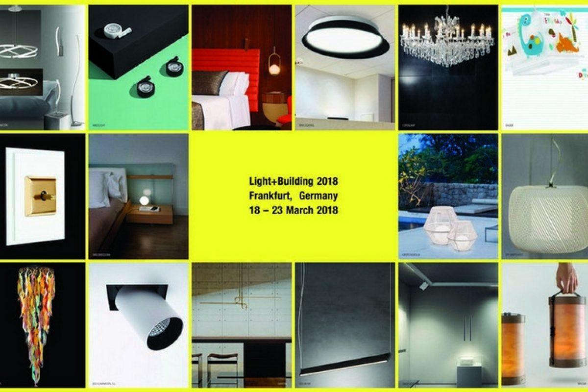 Descubre las empresas españolas que, bajo el paraguas Lighting From Spain, mostrarán sus novedades en la feria Light + Building 2018