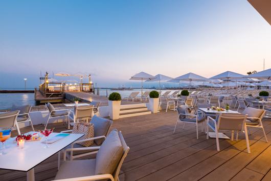 Kettal Furnishes Beach Club Of Cannes Hotel Majestic