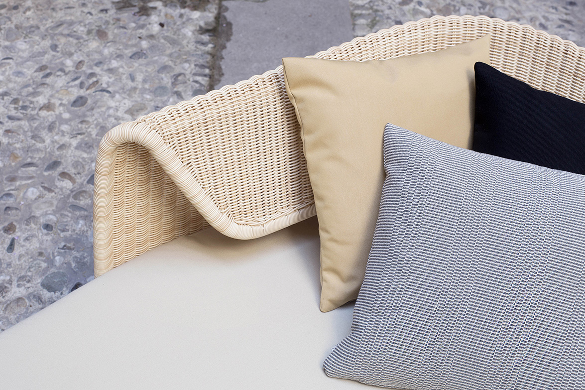 Wrap outdoor collection by Omi Tanaha for Yamakawa Rattan_detail1