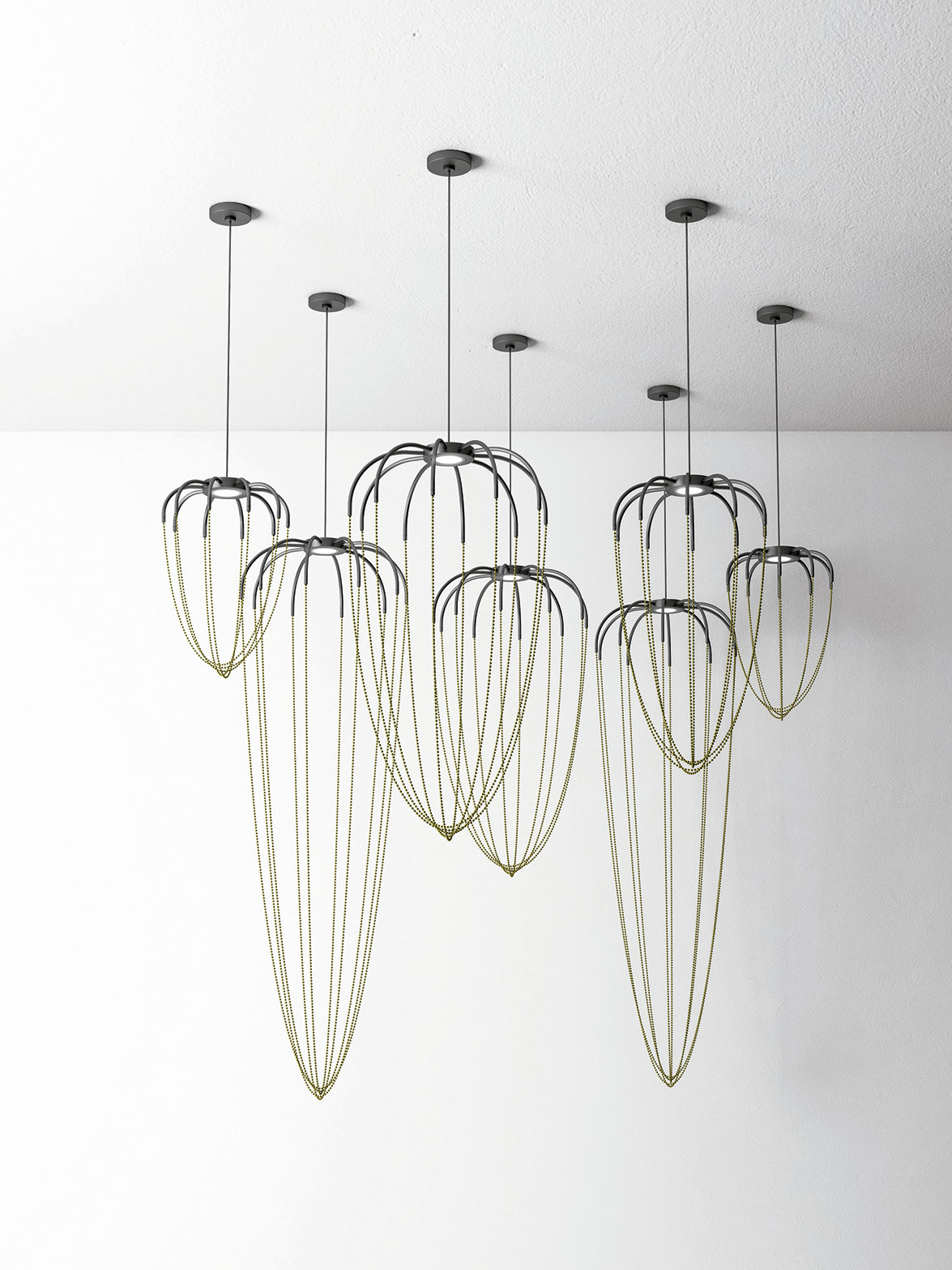 the lighting collection. Alysoid Of Axolight, The Lighting Collection Designed By Ryosuke Fukusada Inspired World Geometry And Architecture