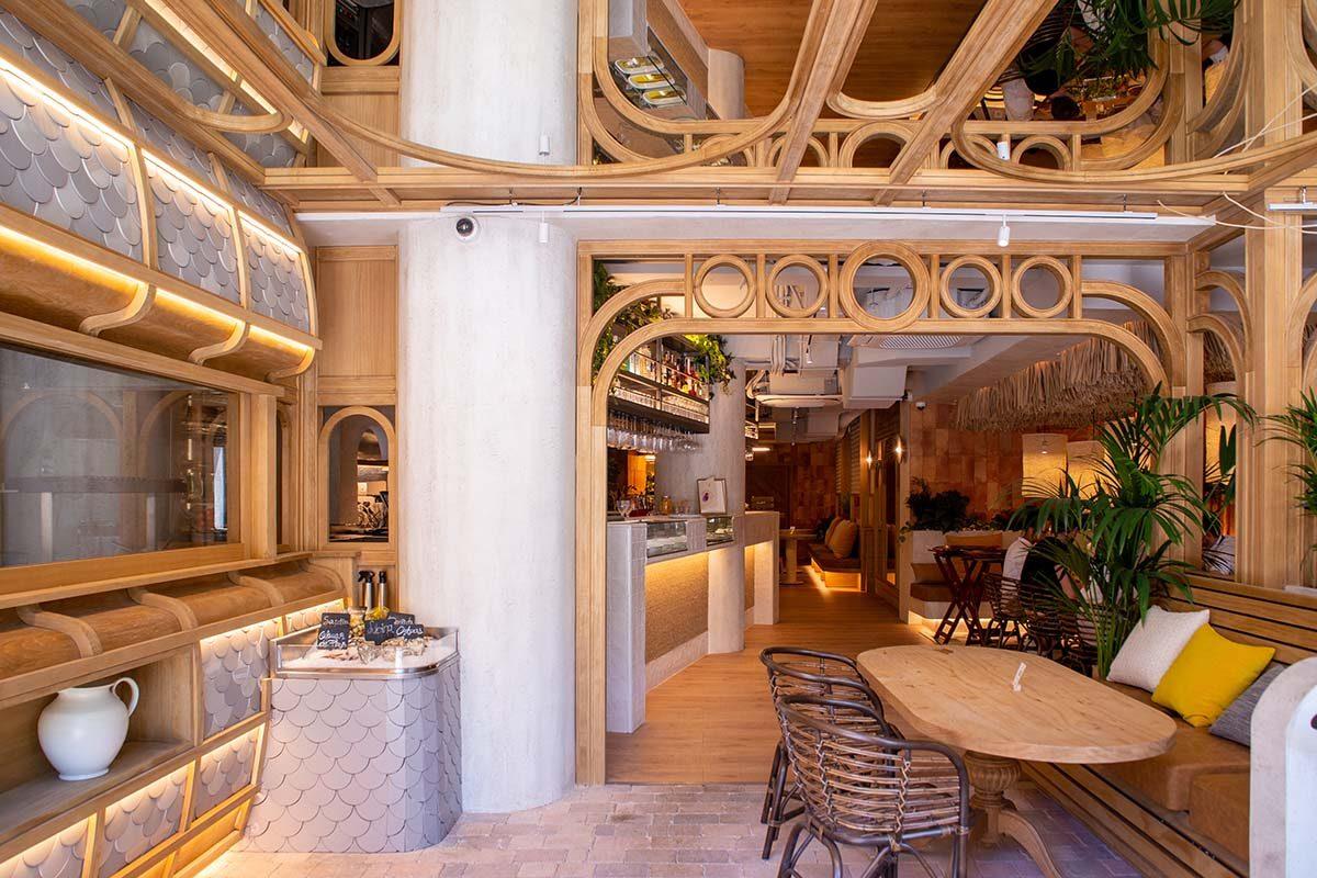 4Retail construye el nuevo restaurante Piropo en Madrid diseñado por DPoch Studio