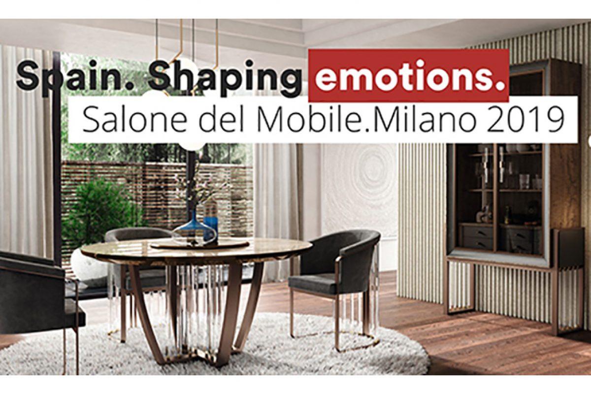 La Alta Decoración española se mostrará en los pabellones xLux del Salone del Mobile.Milano 2019