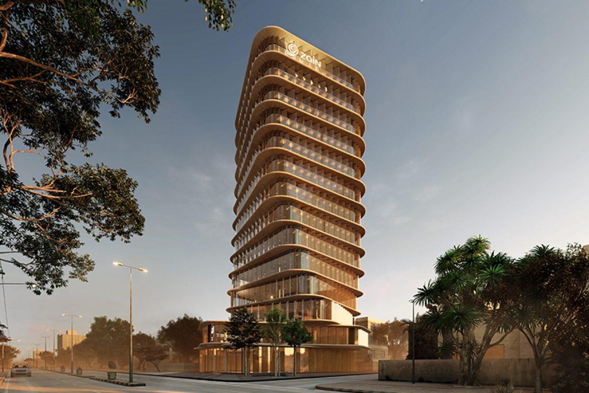 Zain Tower, el edificio de oficinas de mediana altura en Jartum proyectado por AQSO