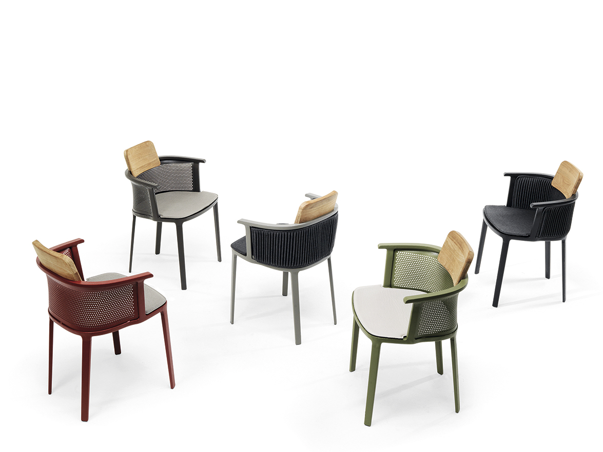 The Elegance Of Nicolette The Outdoors Armchair Designed