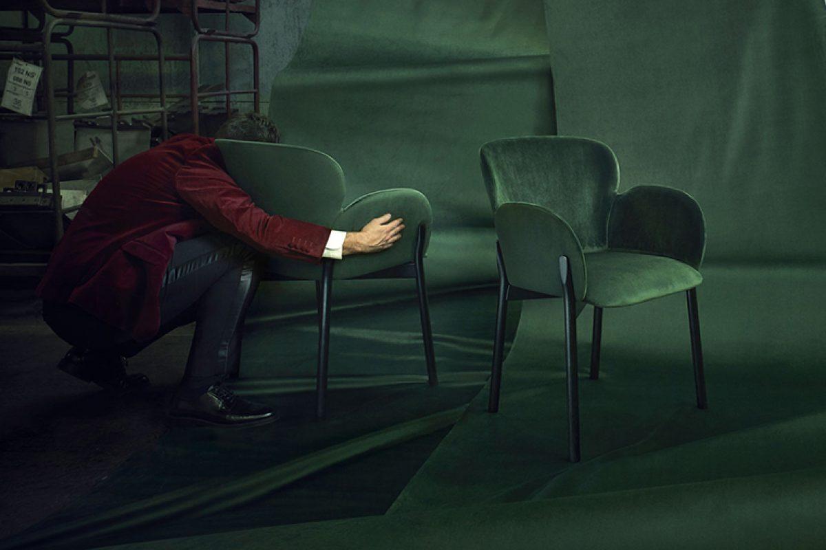 Los suaves contornos de Ginger, la silla diseñada por Yonoh para Ton
