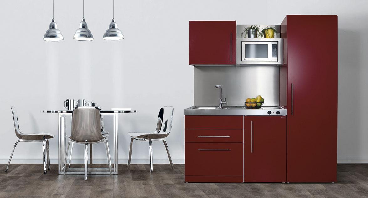 nueva imagen de minicocinas compactas stengel cocinar vivir trabajar - Mini Cocinas