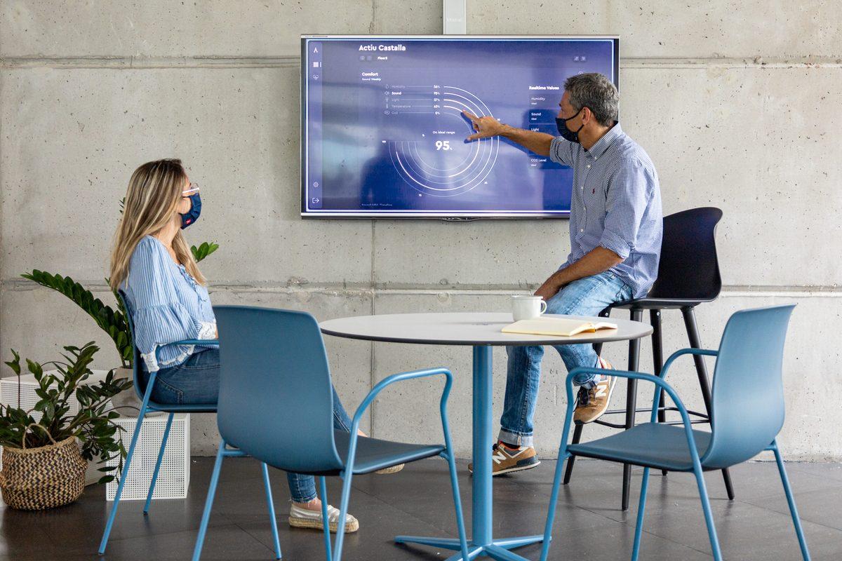 Tecnología que aporta conocimiento para la vuelta segura a la oficina