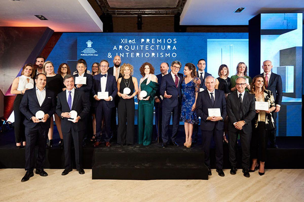 Porcelanosa entrega los galardones de la XII Edición Premios de Arquitectura e Interiorismo 2019