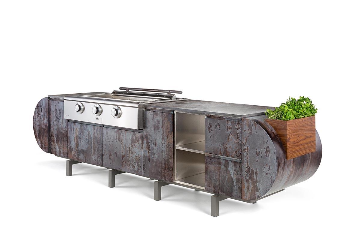 Asa D2 A Modular Outdoor Kitchen Designed By Daniel