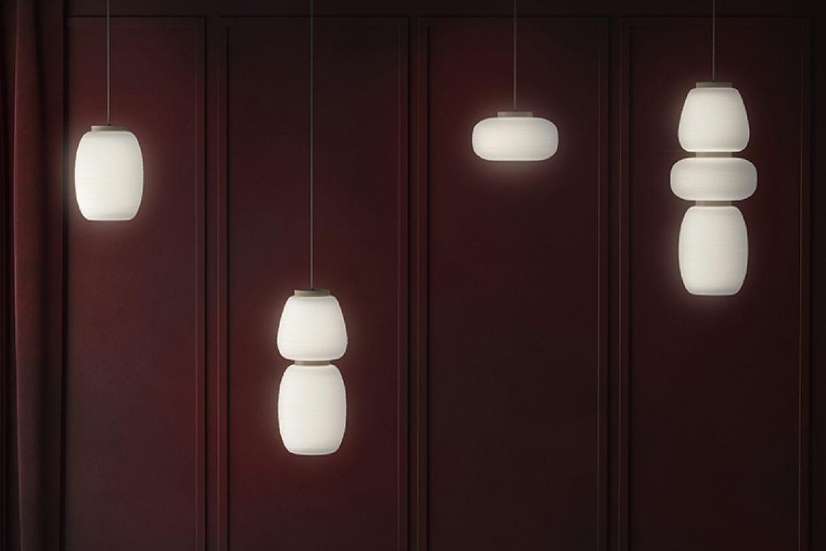 Las lámparas japonesas Akari inspiran la nueva colección de Stone Designs para B.lux
