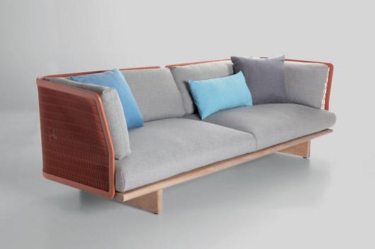Patricia Urquiola diseña la familia de muebles de exterior Mesh para ...