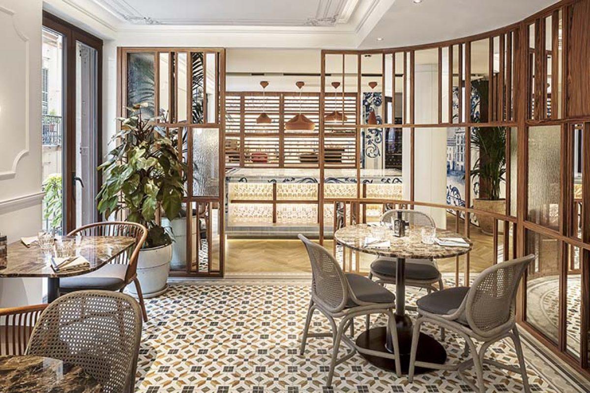 Restaurante Fauna por El Equipo Creativo, inspirado en una casa típica de Barcelona