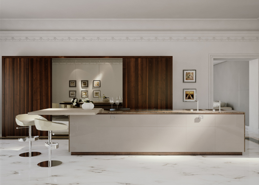 Fendi Casa offers a unique space where aesthetic harmony and functionality blend perfectly. This ambitious project exclusively rev&s the concept of ... & New luxury kitchens by Fendi Casa Ambiente Cucina. Exclusive ...
