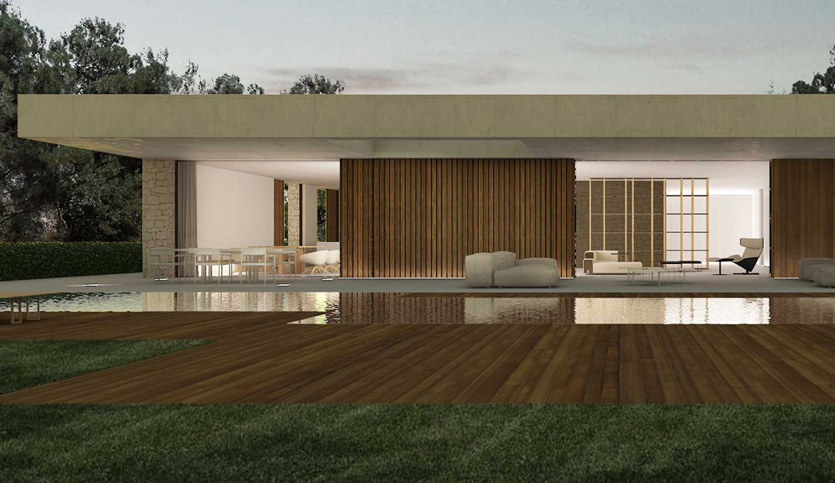 Ramn Esteve designed the house in La Caada Contemporary