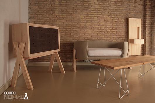 Equipo n mada ha presentado en sal n nude 2014 su nueva for Diseno industrial mobiliario