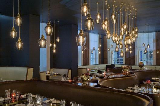 La alta decoraci n de fratelli boffi viste el restaurante for Fachadas de hoteles de lujo