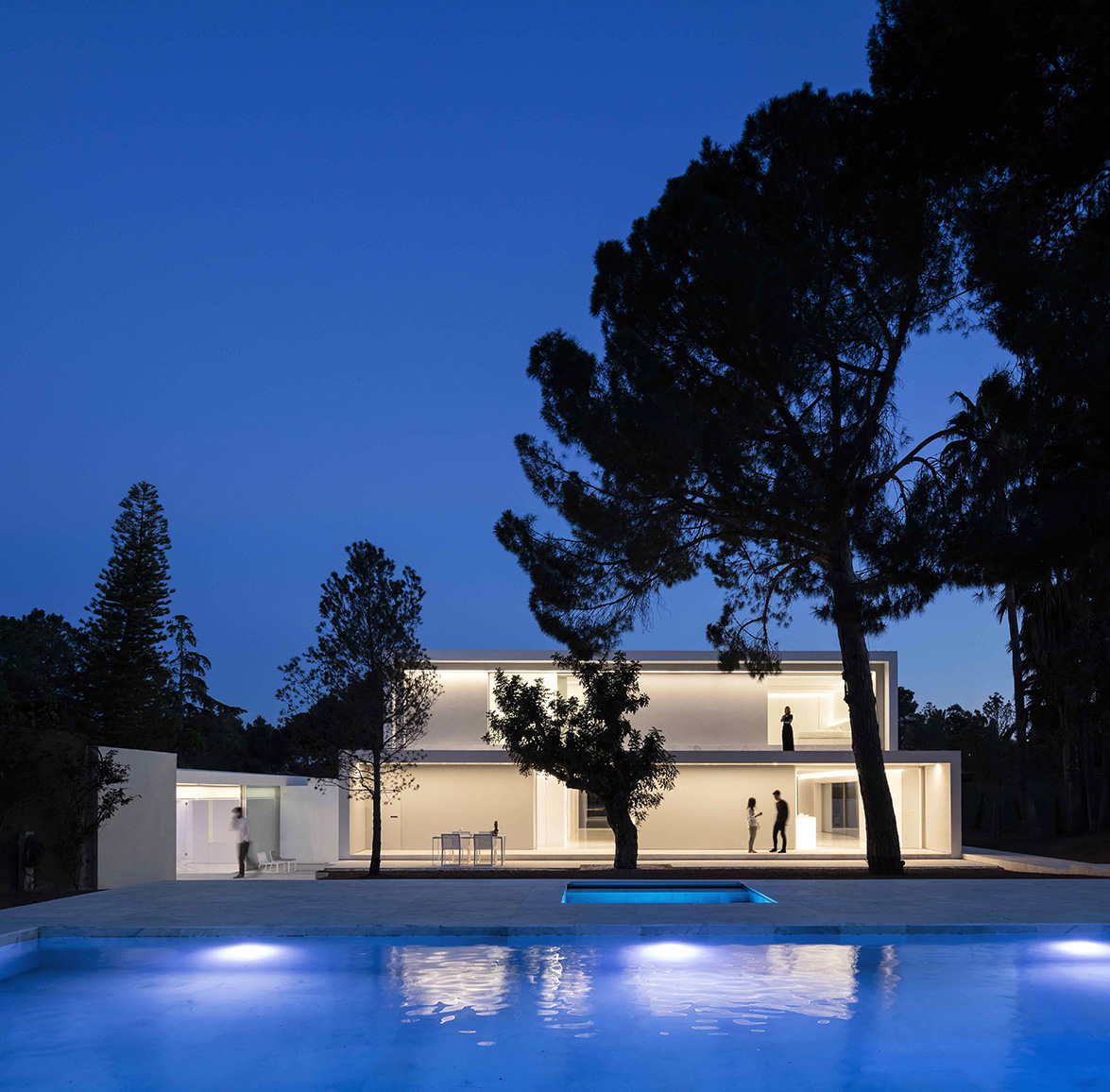 House between the pine forest by fran silvestre - Fran silvestre arquitectos ...