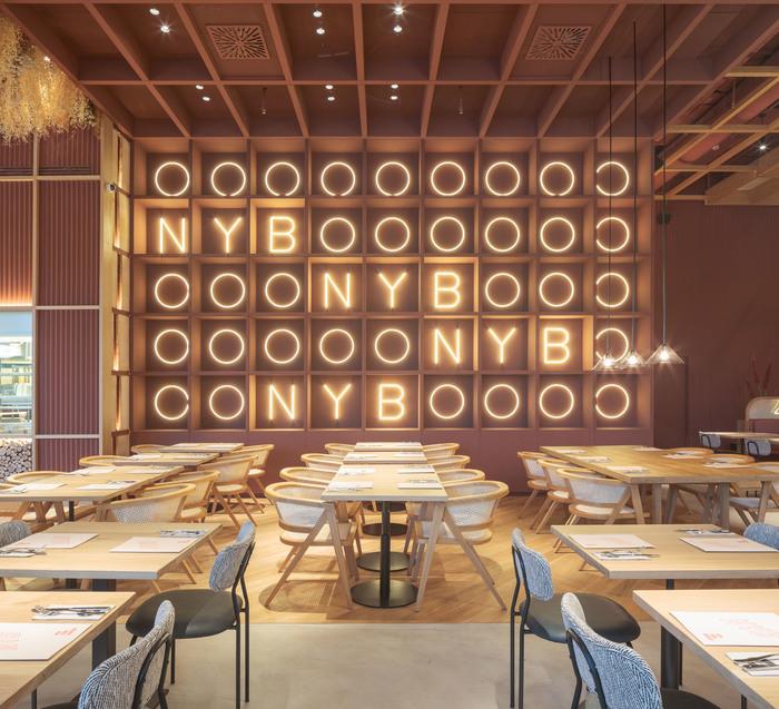 The Best Designed Spanish Restaurants And Bars In 2018 2019 News Infurma Online Magazine Of The International Habitat Portal Design Contract Interior Design Furniture Lighting And Decoration