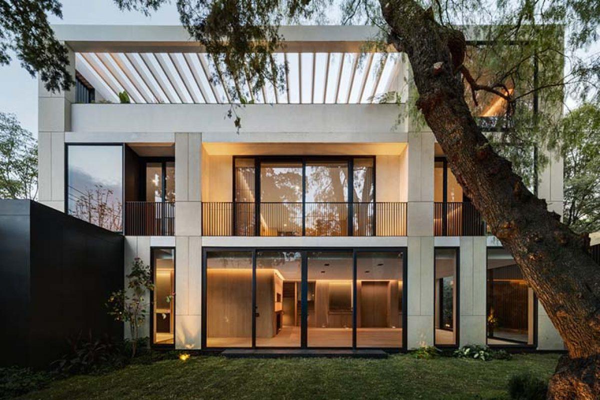 Alencastre 360, residencial unifamiliar en Ciudad de Mexico por HEMAA
