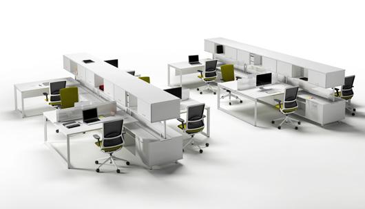 Spine de actiu la espina dorsal de las oficinas del futuro for Distribucion oficinas