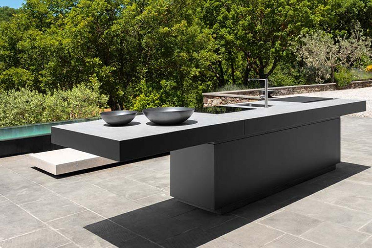 Tikal, la primera línea de cocinas de exterior de Talenti, diseñada por Anidride