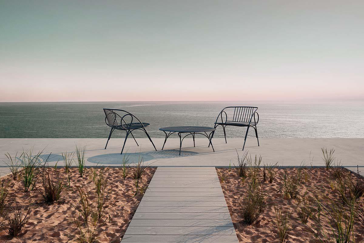 Barani de Valerio Sommella para Moooi, la nueva colección de exterior que se siente como una extensión de su hogar