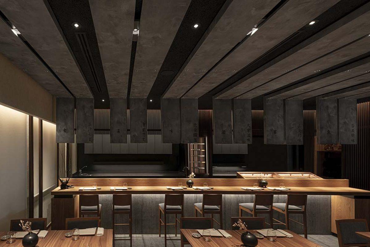 Restaurante Ta-Kumi por Paco Lago. La creatividad al servicio de la geometría y la naturaleza