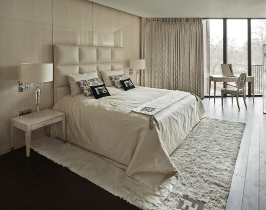 Fendi casa and voix interiors furnish a prestigious for Fendi casa bedroom