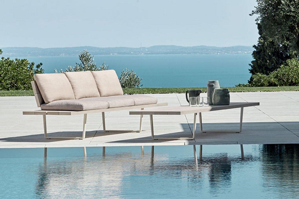 Visto en imm cologne 2020: Orizon, la colección de mobiliario exterior diseñada por Lievore Altherr para Fast