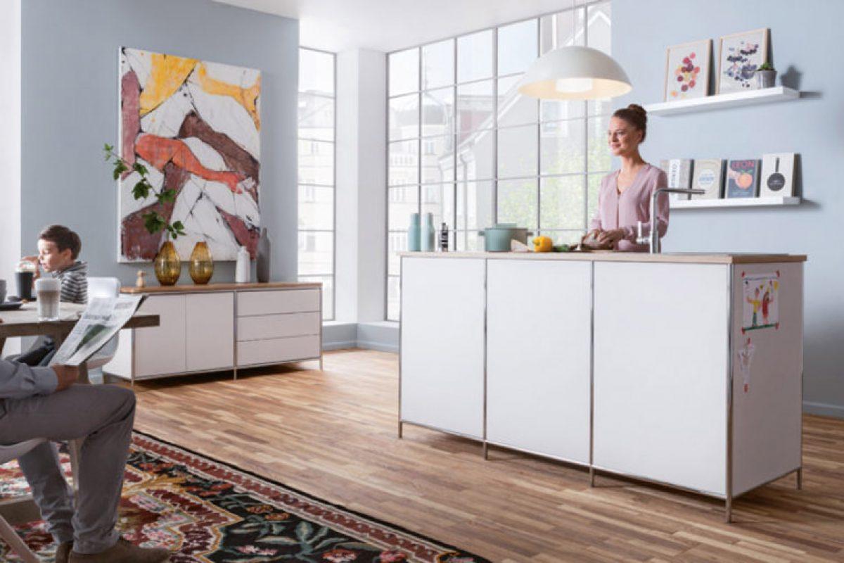 Nueva línea de mobiliario versátil de Stengel Steel Concept. Las mini cocinas mejor adaptadas