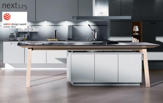 la colecci n next125 de la firma alemana de cocinas sch ller premiada con el red dot design. Black Bedroom Furniture Sets. Home Design Ideas