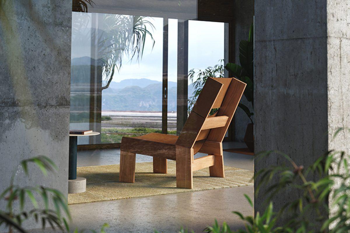 De madera de teka o de aluminio. Patricia Urquiola diseña la colección de exterior Band para Kettal
