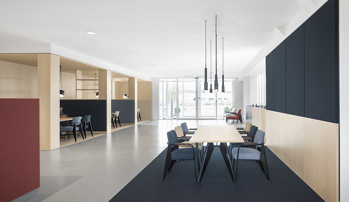 I29 interior architects projected the new bkr workplace. social