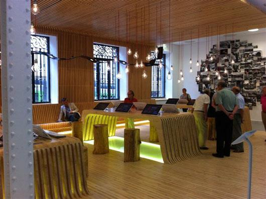 El dise o vasco viste la nueva oficina de turismo de bilbao for Oficina de turismo benasque