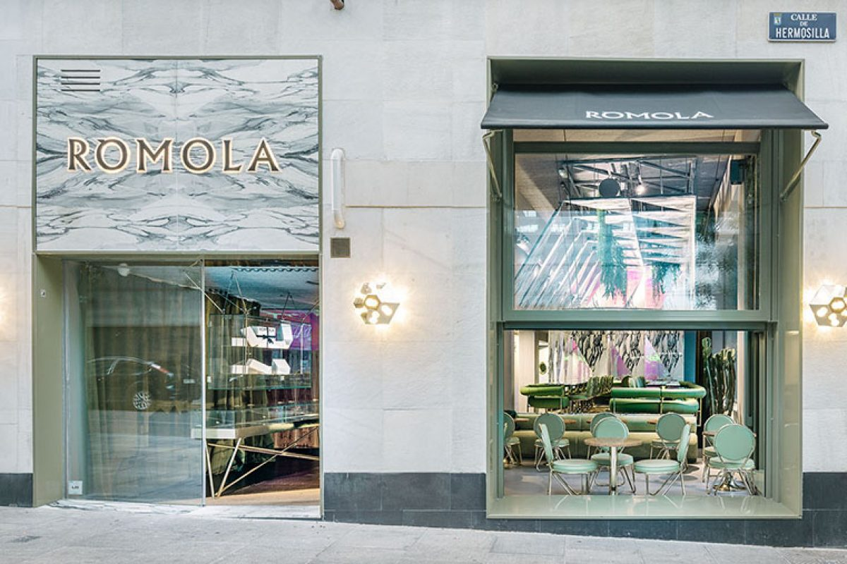 Restaurante Ròmola, la tienda de campaña de mármol en la galaxia diseñada por Andrés Jaque / Office for Political Innovation