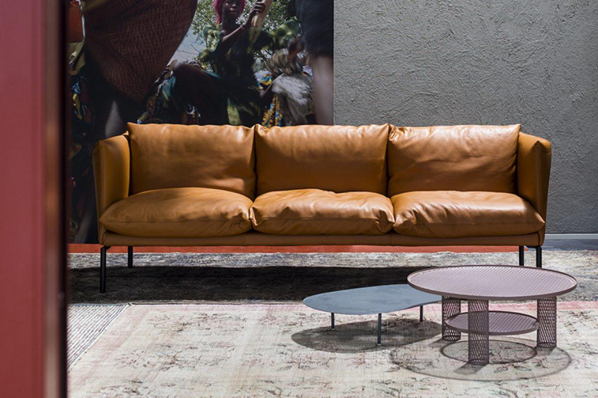 Moroso y Patricia Urquiola celebran 20 años de colaboración y presentan en el Salone del Mobile.Milano una nueva versión del sofa Gentry