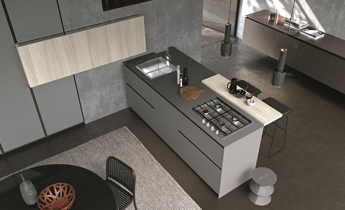 Comprex presenta sus colecciones de cocinas de alto for Colecciones omnia