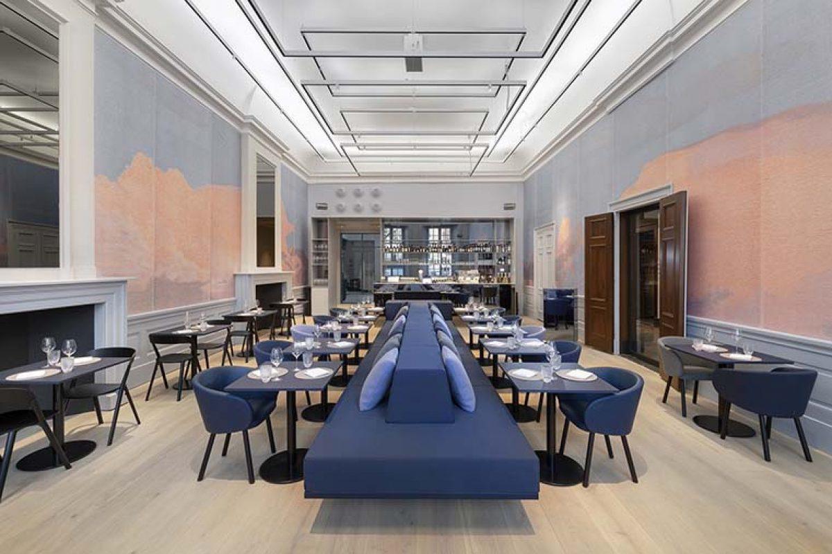 Restaurant Felix de i29 en Amsterdam, un diseño abierto que pone la historia en perspectiva