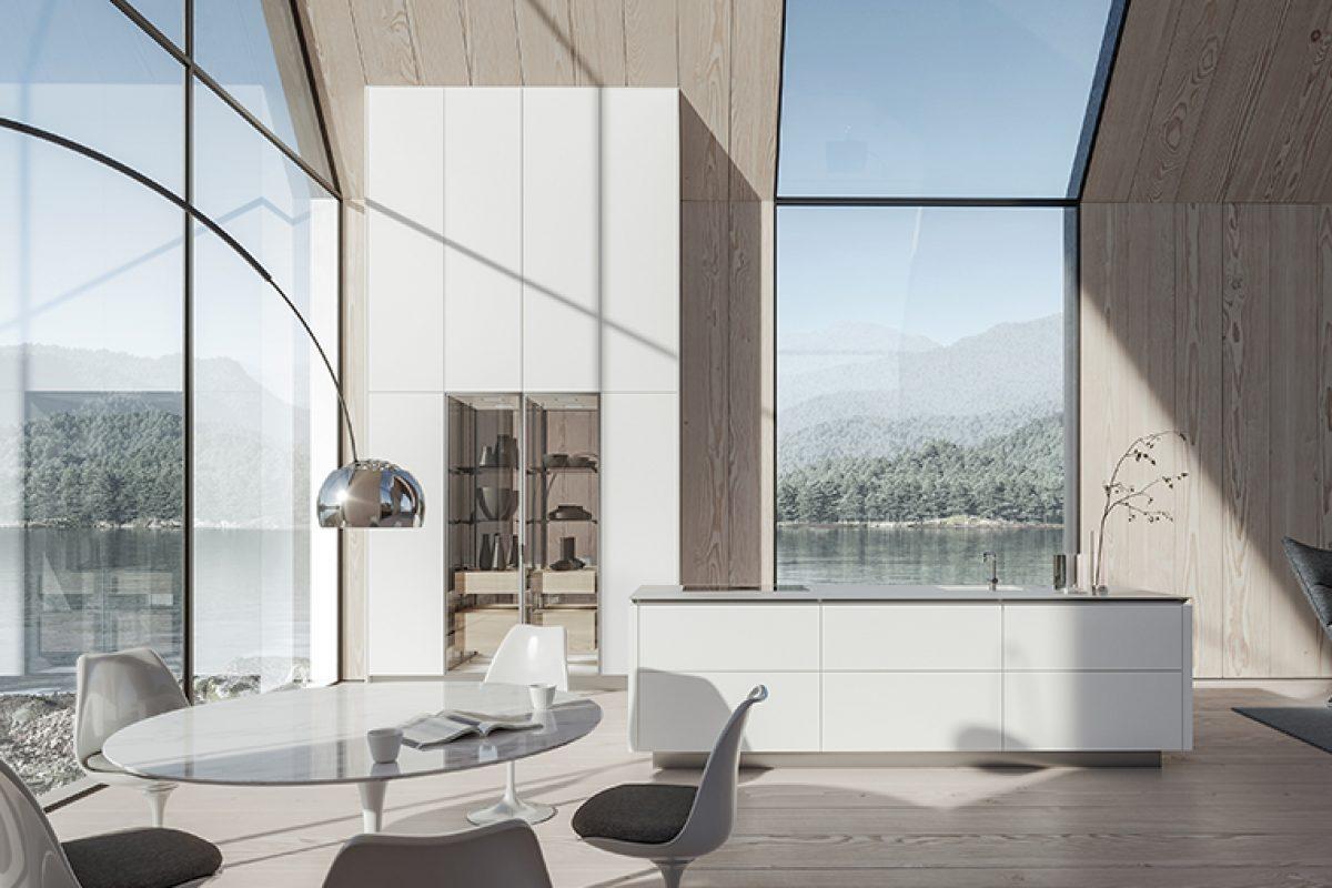 Sobriedad y minimalismo en el hogar con el  nuevo diseño de cocina SLX de SieMatic