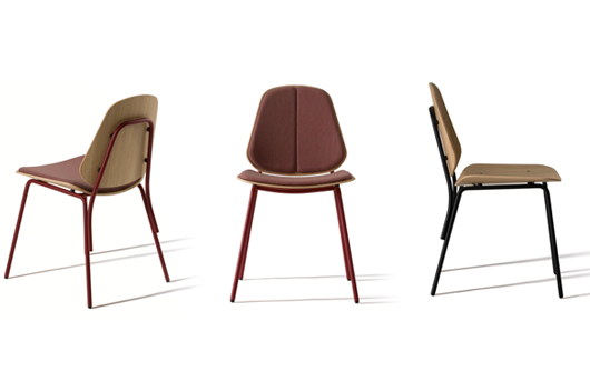 Back to school with the new col chair designed by francesc for Studio design sillas