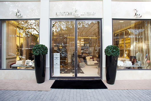 Luxury living group inaugura dos nuevos showrooms en for Luxury living group
