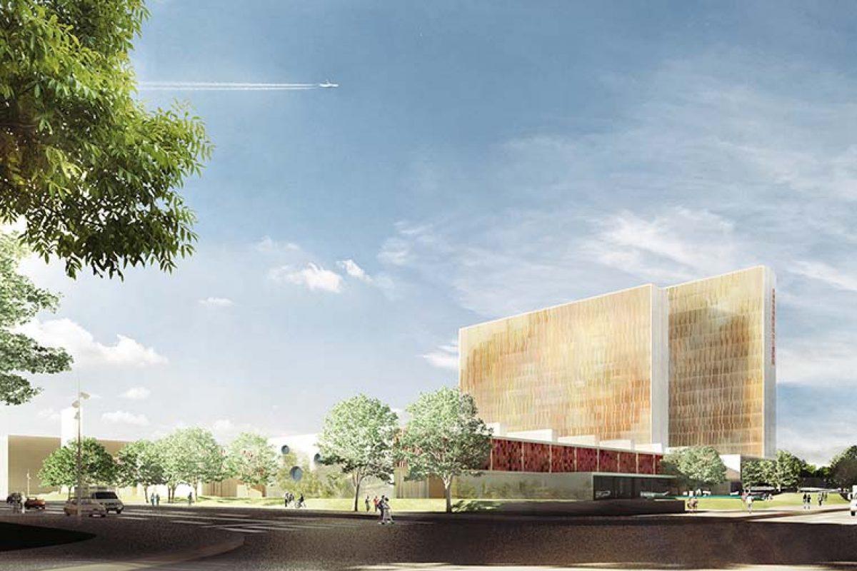 Pinearq, referente en arquitectura hospitalaria y especialista en hospitales materno-infantiles, diseña un moderno hospital para niños en la nueva eco-city china de Tianjin