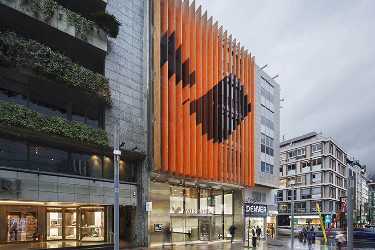 Ginjaume Arquitectura i Paisatge y Llamazares Pomés Arquitectura diseñan la nueva sede de Vall Banc, una nueva mirada hacia la sociedad actual