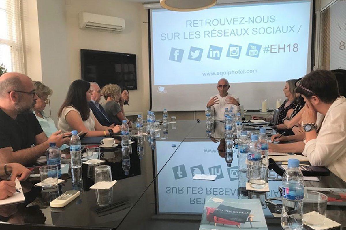 54 empresas españolas presentan sus soluciones para el canal contract en la feria EQUIPHOTEL París 2018