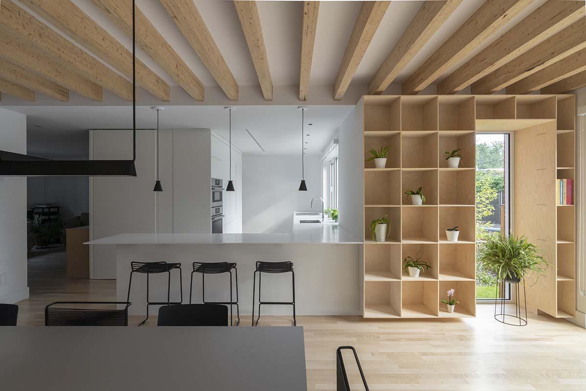 Residencia Patricia, proyecto de reforma y ampliación por Dupont Blouin Architects
